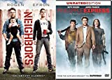 Seth Rogan DVD 2-pack Neighbors & Pineapple Express comedy movie double feature