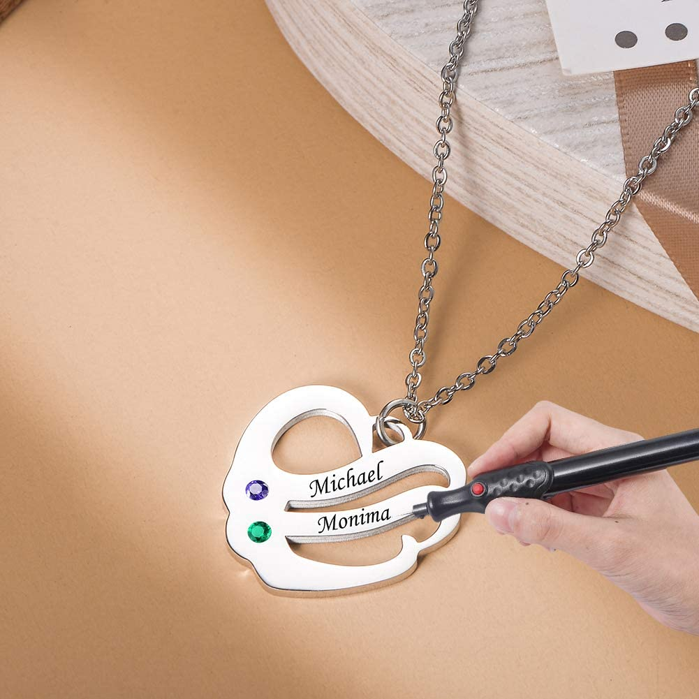 Elektrischer Mikro-Gravurstift Glas Leder schwarz schnurlos Holz Pr/äzisionsgravur mit externem 5 austauschbaren Diamantspitzen f/ür Schmuckherstellung Metall