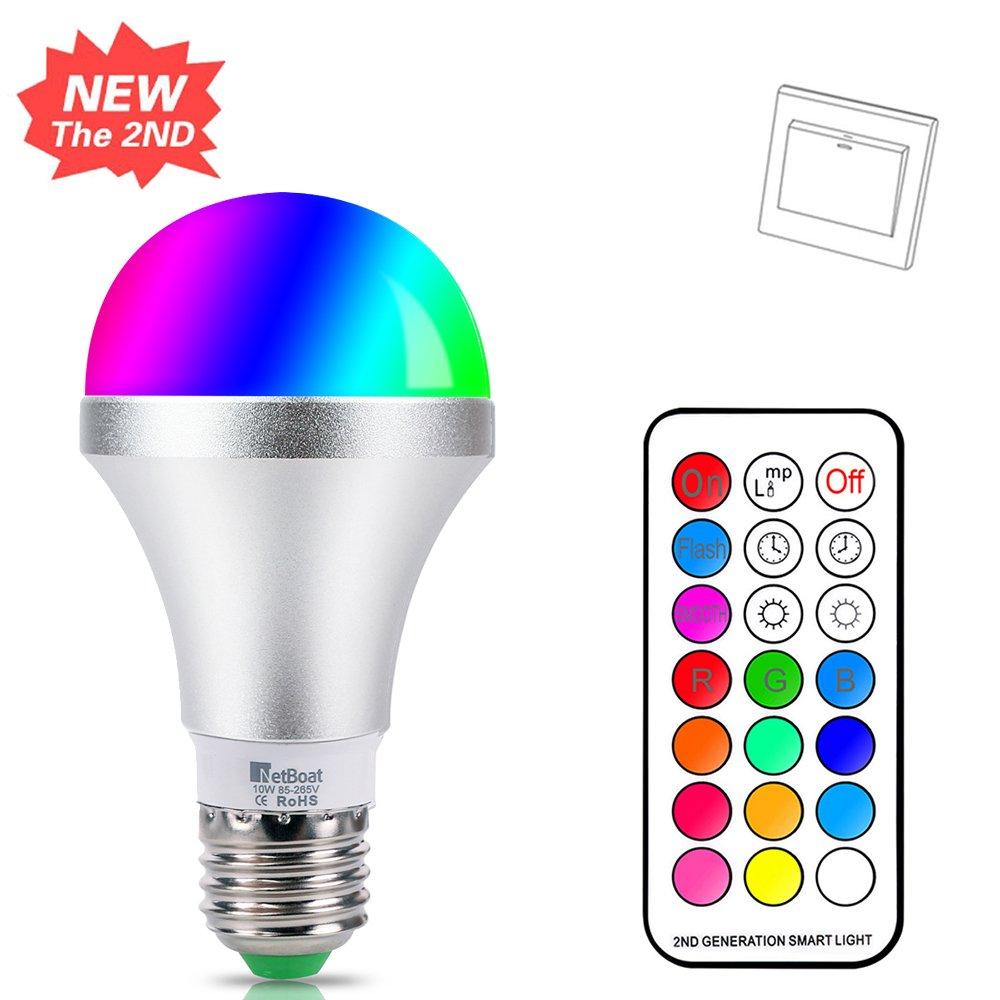 Lights & Lighting Energy Saving & Fluorescent Adjustable Smart Led Lamp Eu Plug E27 Aluminum Led Bulb App Dimming 10w Adjustable Color Temperature Smart Light Lighting Latest Technology