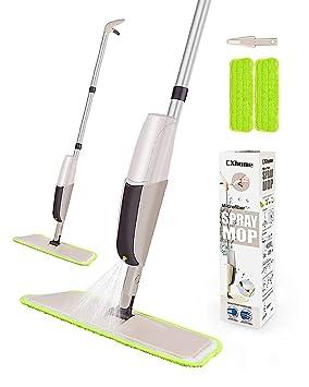 CXhome Mopa para Suelo Lavado, Spray Mop con 2 Perros bodenwischer ersatzbezug y 1 Tank, Spray - Mopa para Home Cocina: Amazon.es: Hogar