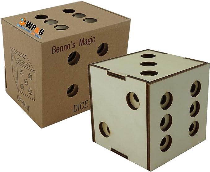 Caja de rompecabezas de 29 pasos para abrir y desbloquear la caja secreta – Diseñado por Bennos Magic – Muy difícil rompecabezas IQ seguro para resolver – Juego de cerebro para adultos