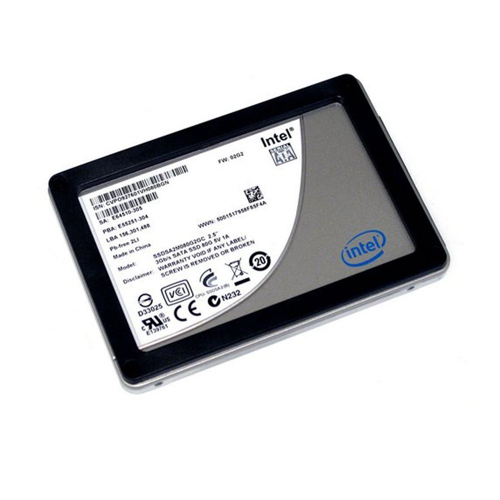 Intel Corporation SSDSA2M080G2GC New Intel X25-M 80GB 2.5 inch SSD Solid State Drive - SATA II SSDSA2