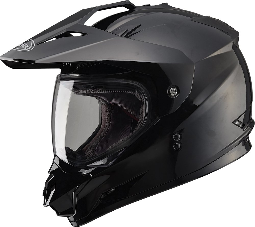 Gmax G5115023 Dual Sport Solid Helmet