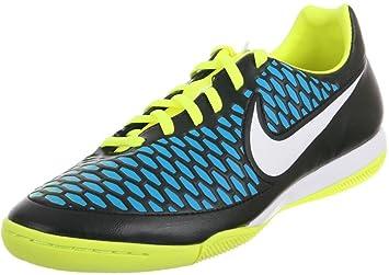 5002f1fb7cc4 Nike Magista Onda IC Mens Football Trainers Soccer Cleats (Black/White-Blue  Lagoon