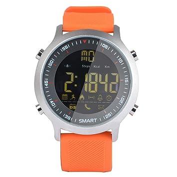 Cebbay Reloj Inteligente Pulsera Actividad Inteligente Full OLED táctil Reloj Pulsera Rastreador de Fitness para Correr, Senderismo y Escalada,Reloj ...