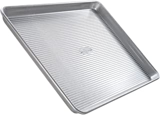 product image for USA Pan Bakeware Quarter Sheet Pan, Warp Resistant Nonstick Baking Pan, Made in the USA from Aluminized Steel