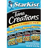 StarKist Tuna Creations Variety Pack – 2.6 Ounce Pouch, Pack of 4 (Multiple Flavors)