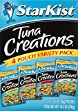 Kyпить StarKist Tuna Creations Variety Pack – 2.6 Ounce Pouch, Pack of 4 (Multiple Flavors) на Amazon.com