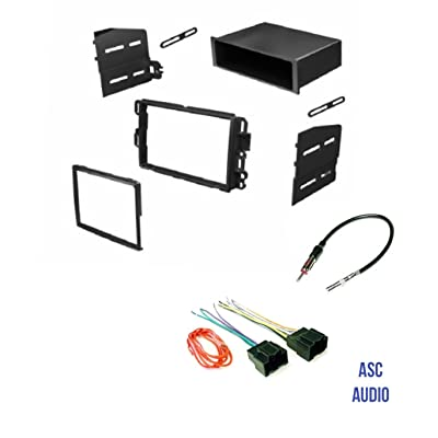 Car Stereo Install Dash Kit, Wire Harness, and Antenna Adapter to Add Radio for some GM LAN29 Buick Chevrolet GMC Pontiac Saturn.- Basic Wire Won't Work With All Vehicles- See Important Notes Below: Car Electronics
