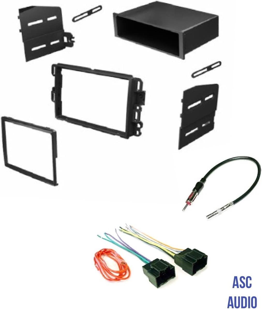 Aftermarket Radio Stereo Install Dash Kit Mount Wire Harness Antenna Adapter