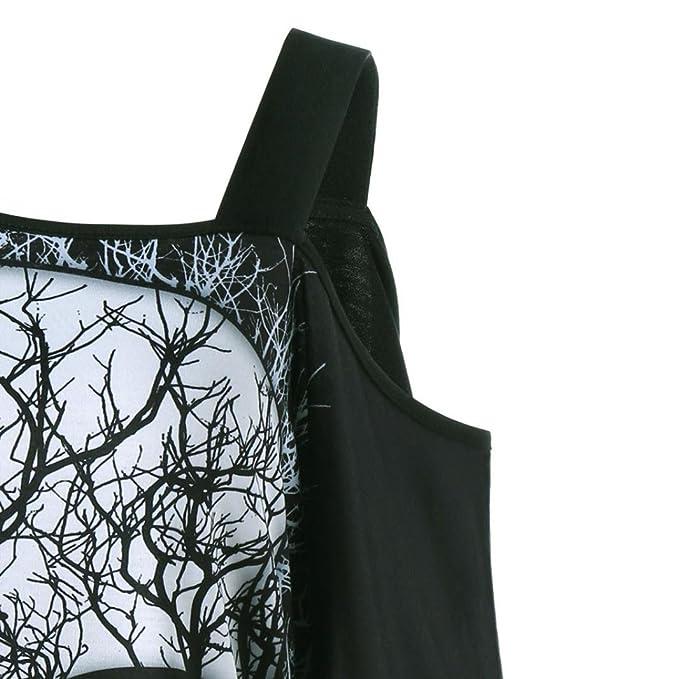 Blusa con Estampado Manga Corto Tops Suelto Tallas Grandes Verano Camiseta Hombro Caido Atractivo Mujer LHWY