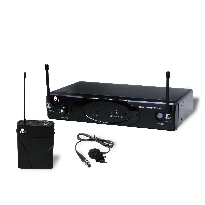 KWS ピンマイク(ラベリア) ワイヤレスシステム KWS-899P/LM-60   B0711TW977