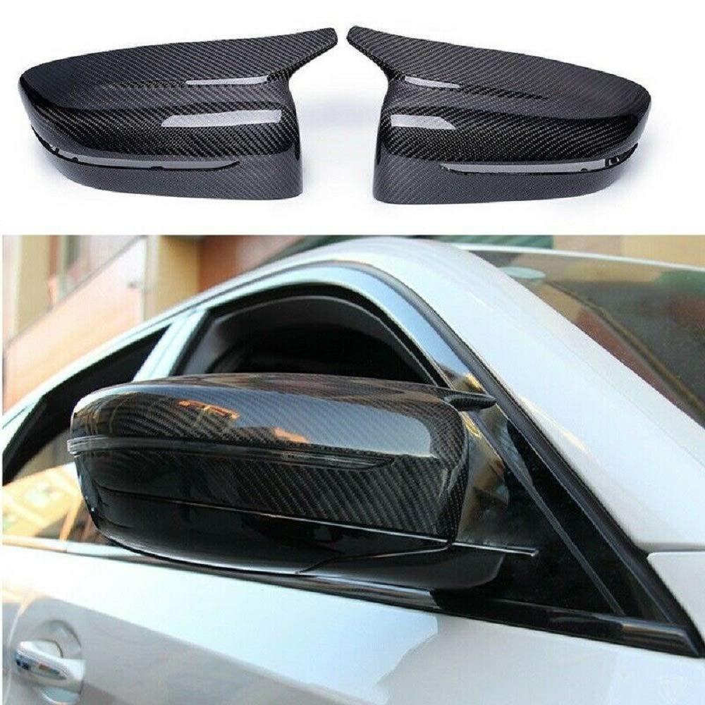 Copertura per specchietto retrovisore in Fibra di Carbonio per BMW Serie 5 G30 G38 G11 G12