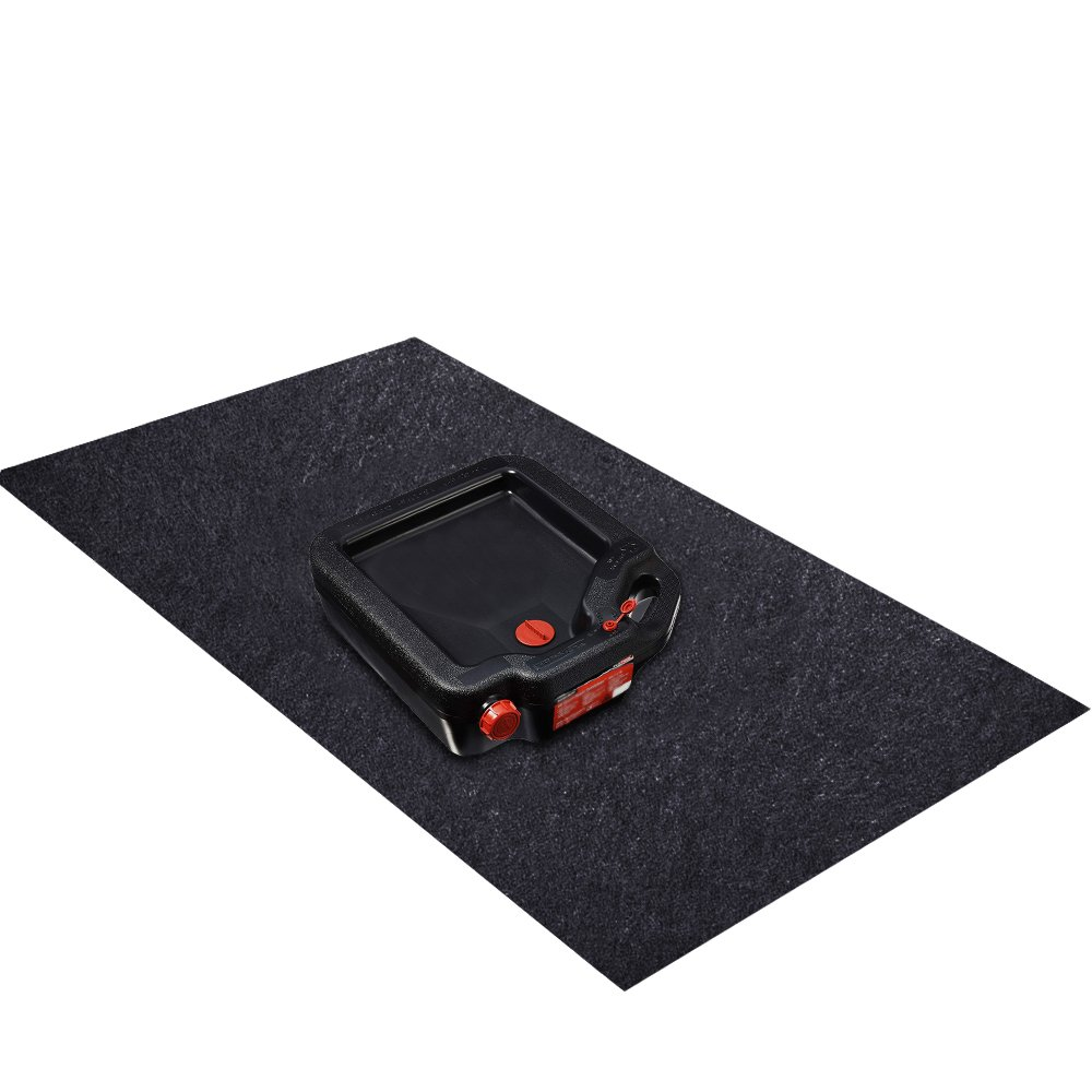 Oil Spill Mat (36'x 60'), Premium Absorbent Garage Floor Oil Mat – Reusable – Oil Pad Contains Liquids, Protects Garage Floor Surface (Large) lorr