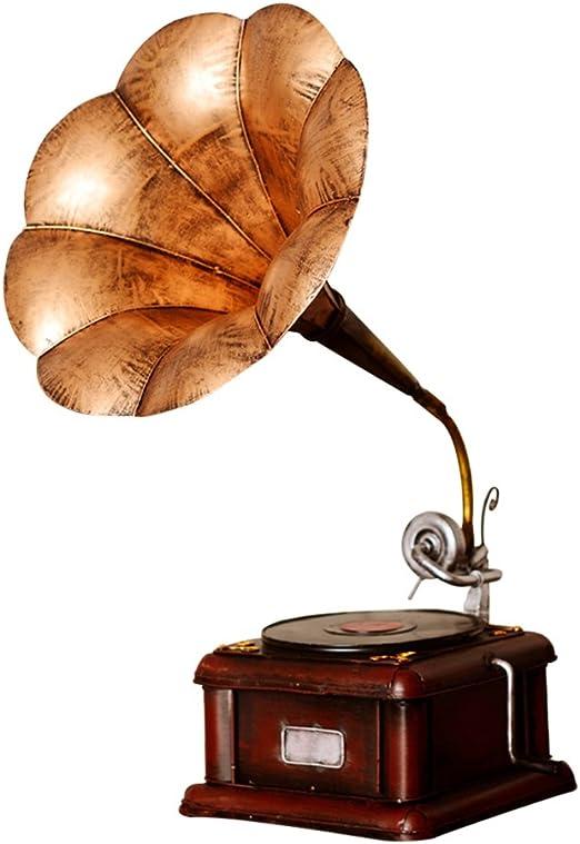 DECORACIÓN MMM- Antiguo Modelo de fonógrafo, Tocadiscos de Vinilo ...