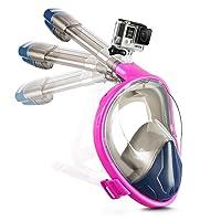 Deals on DORAMILE Full Face Snorkel Mask