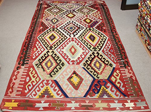 Oriental Turkish Kilim rug 10,4x5,5 feet Area rug Old Rug Bohemian Kilim Rug Floor rug Sofa Decor Rustic Kilim Rug
