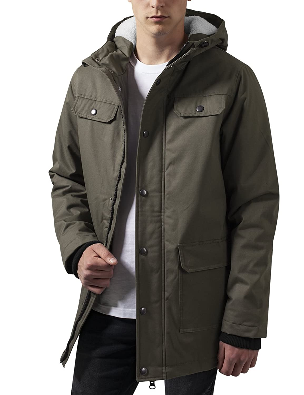 Urban Classics Men's Heavy Cotton Parka Jacket