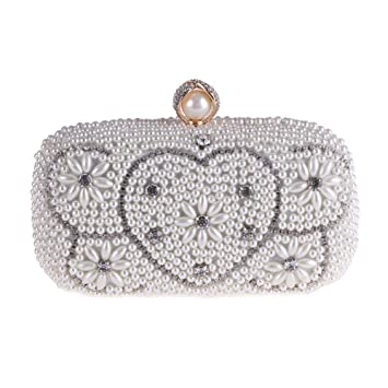 SHMILY Bolsa De Banquete Bolso De Diamantes De Imitación De ...