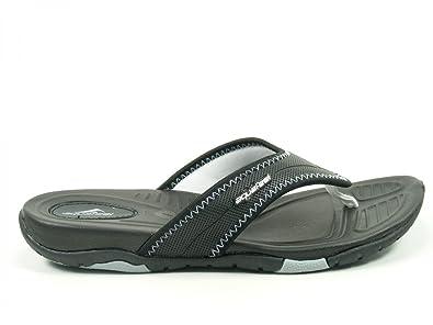 Fashy Schuhe Damen Komfort Badepantoletten Zehentrenner V-Strap aquafeel  7729, Schuhgröße:37;