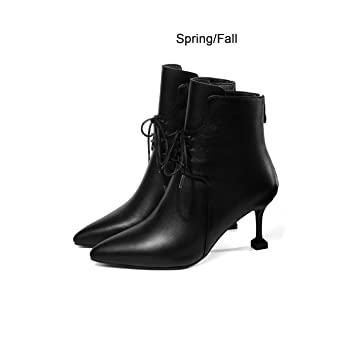 divers styles nouveau style de vie qualité supérieure DANDANJIE Bottines pour Femmes avec des Chaussures à Talons ...