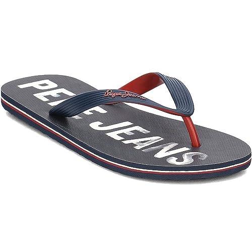 6211b1811b3 Sandalias Pepe Jeans 70051 Marino  Amazon.es  Zapatos y complementos
