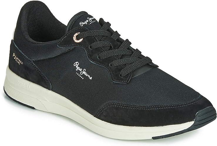 Sneakers Scarpe uomo Pepe jeans JAYKER BASIC Nero