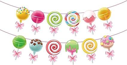 Amazon.com: Anor WishLife Cartel de Candyland, cartel de ...