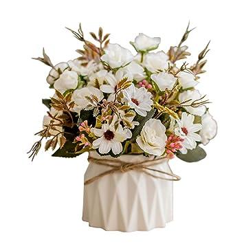 Demarkt Kunstliche Pflanze Blumentopf Topfpflanze Kunstliche Topfe