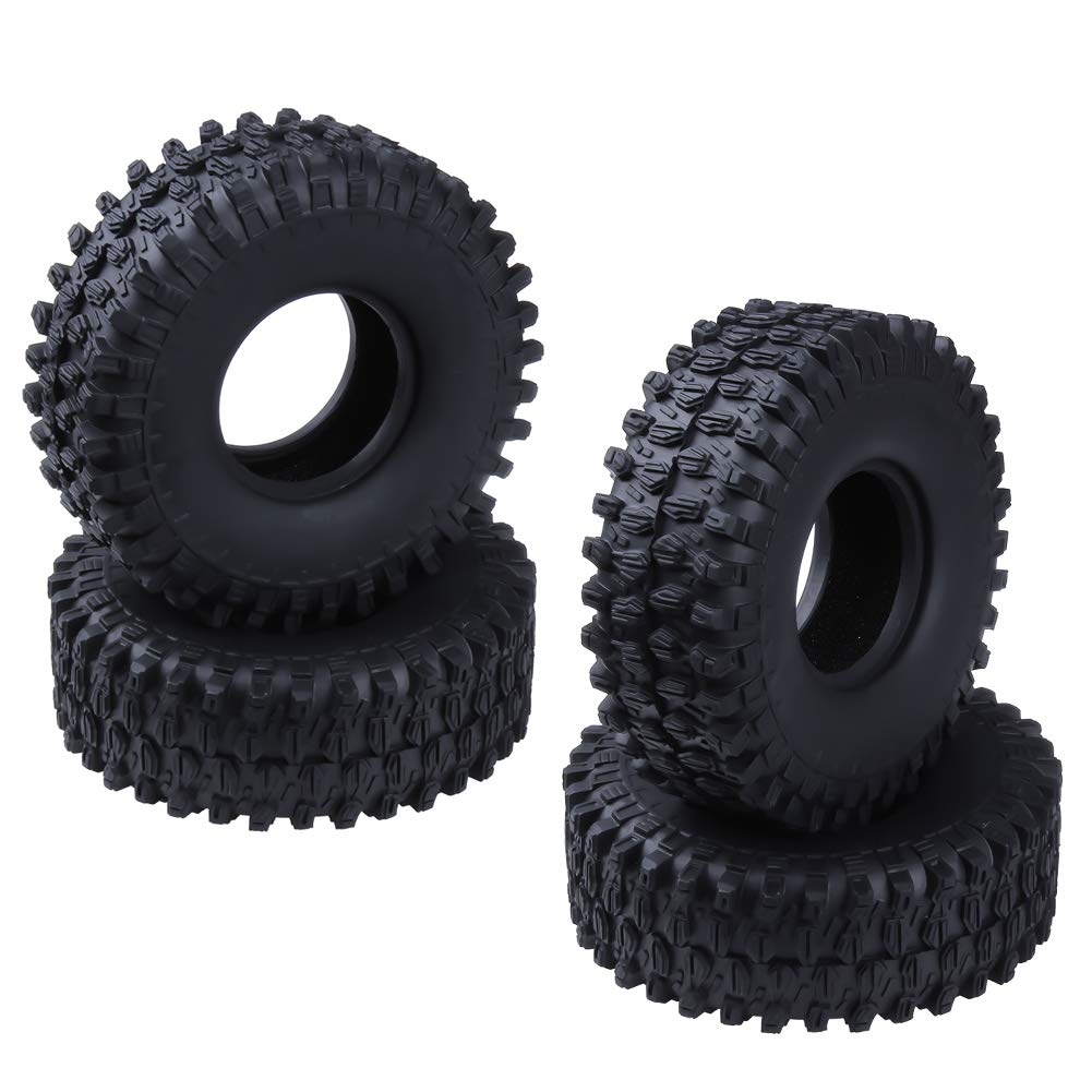 Hobbypark 4PCS 1.9 inch RC Crawler Tires Outer Diameter (120mm /4.7 inches) Foam Inserts for Traxxas TRX-4 Axial SCX10 Replacement Parts