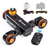 TARION Y5D Autodolly Electric Slider Motorized Pulley Car Cine Dollies Rolling Skater with Wireless Remote for DLSR…