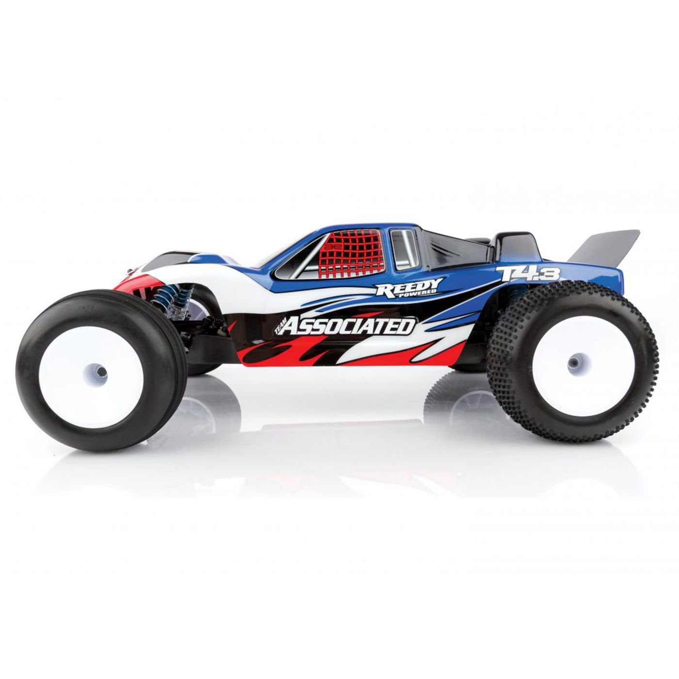 Amazon 1 10 RC10T4 3 2WD Stadium Truck Brushless LiPo bo RTR Red Toys & Games