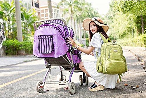 Global- 30 * 18 * 43cm impermeable de tela Oxford Gran capacidad de paquete de la momia, mujeres embarazadas multifunción Salir mochila, Moda extraña de viaje esencial multifunción mochila ( Color : # #1