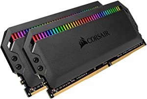 Corsair Dominator Platinum RGB 32GB (2x16GB) DDR4 3466 (PC4-27700) C16 1.35V - Black