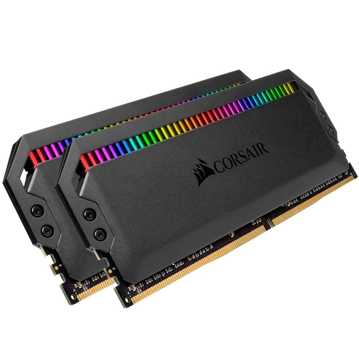 Memoria RAM 32GB Corsair Dominator Platinum RGB (2x16GB) DDR4 3466 (PC4-27700) C16 1.35V - Black