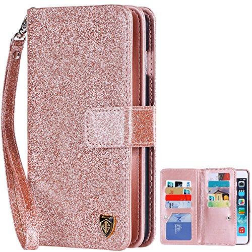 iPhone Wallet BENTOBEN Magnetic Closure