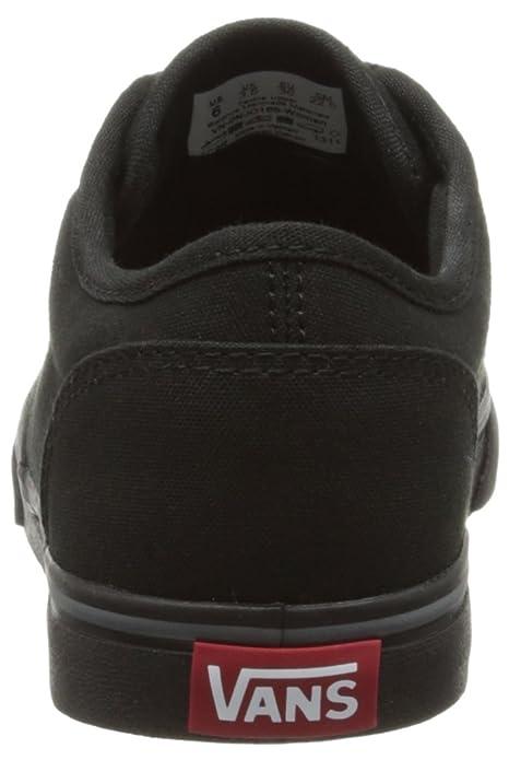 Vans Atwood, Unisex-Kinder Sneakers, Schwarz ((Canvas) Black/186), 37 EU