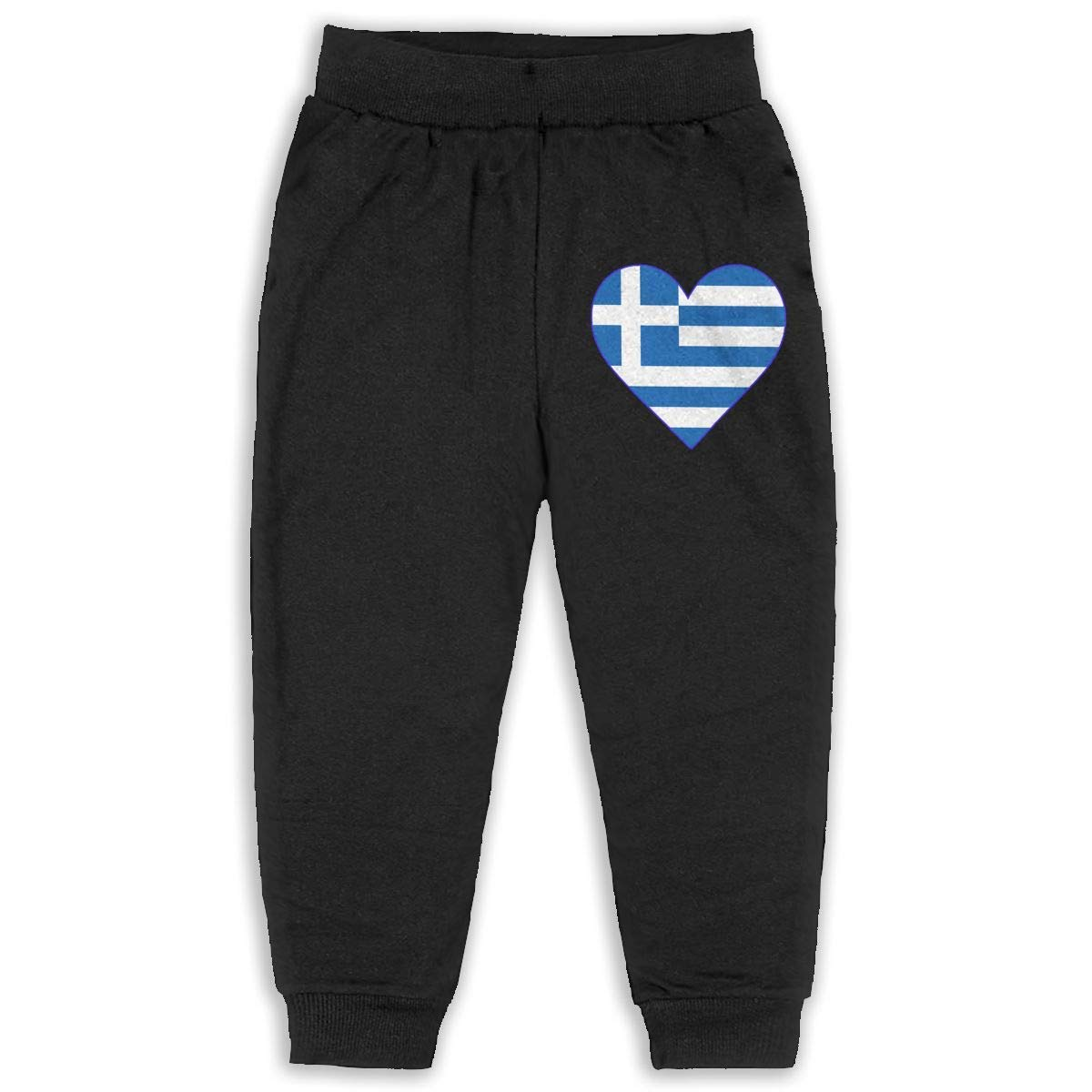 lu fangfangc Flag of Greece Childrens 2-6 Years Old Boys Girls Unisex Sport Sweatpants
