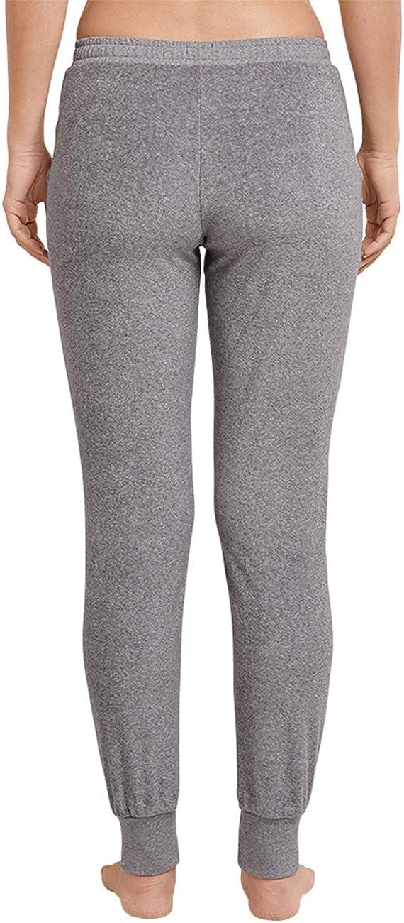 Schiesser Damen Mix /& Relax Frotteehose Lang Schlafanzughose