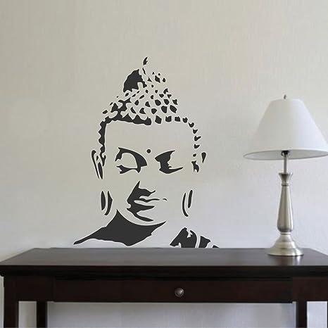 07af5e6f6f2 Buy Rawpockets  Buddha Peaceful  Wall Sticker (PVC Vinyl