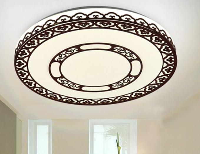 Plafoniere Ultra Sottile Salotto : Sucatle nuovo ultra sottile legno bordi led soffitto acrilico
