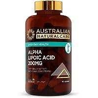 Australian NaturalCare 200mg Alpha Lipoic Acid Capsules, 90 Count