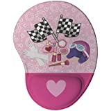 Mouse pad Ergonômico Charmosa Presente Criativo Geek cor:Rosa