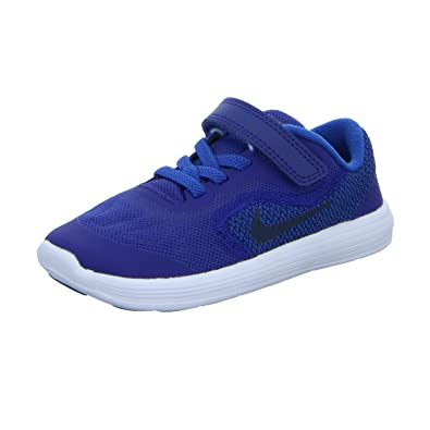 Nike Revolution 3 (TDV) Kids's Sport Shoes Blue (25): Amazon ...