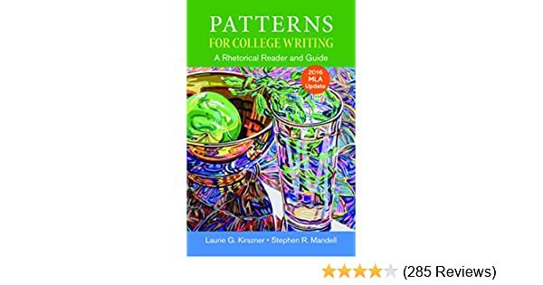 Amazon patterns for college writing with 2016 mla update amazon patterns for college writing with 2016 mla update 9781319088064 laurie g kirszner stephen r mandell books fandeluxe Image collections