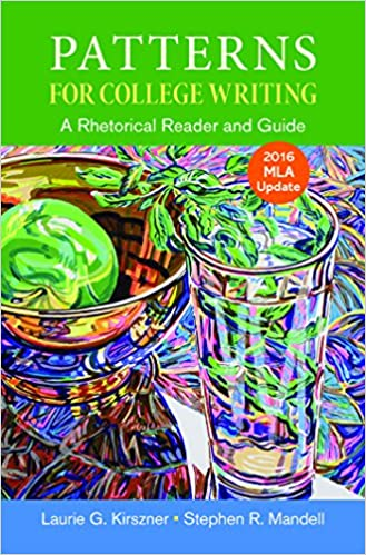 patterns for college writing with 2016 mla update thirteenth edition