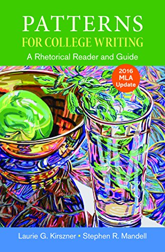 Patterns for College Writing with 2016 MLA Update cover