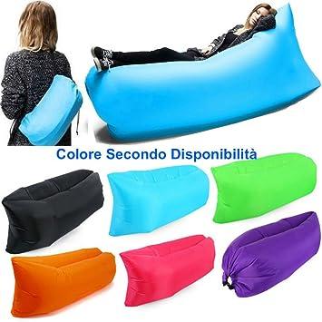 DOBO® - Colchoneta inflable, perfecta como saco de dormir, sofá, colchoneta de playa, color aleatorio: Amazon.es: Deportes y aire libre