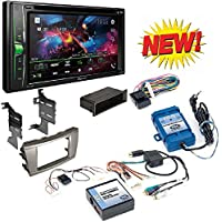 TOYOTA CAMRY 2007-2011 AFTERMARKET CAR STEREO INSTALL KIT DASH MOUNTING KIT + STEERING WHEEL CONTROL INTERFACE + JBL SYSTEM AMPLIFIER+PIONEER BLUETOOTH STEREO