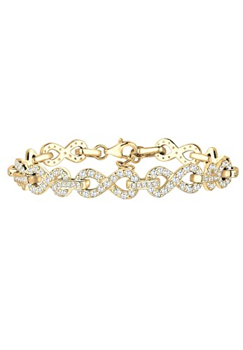 Elli Premium Armband Damen mit Infinity Symbol und Zirkonia Steinen in 925  Sterling Silber  Amazon.de  Schmuck 9843d33011
